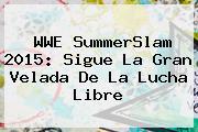 <b>WWE</b> SummerSlam 2015: Sigue La Gran Velada De La Lucha Libre