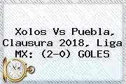 <b>Xolos Vs Puebla</b>, Clausura 2018, Liga MX: (2-0) GOLES