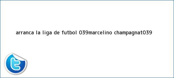 trinos de Arranca <b>la Liga</b> de Futbol &#039;Marcelino Champagnat&#039;