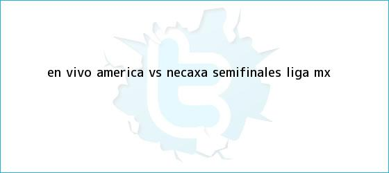 trinos de EN VIVO | <b>América vs Necaxa</b> | Semifinales Liga MX