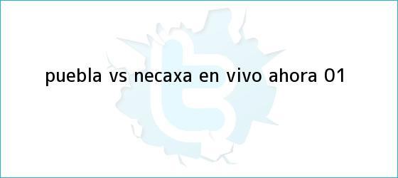 trinos de <b>Puebla vs Necaxa</b> EN VIVO ahora (0-1)