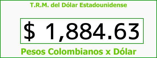 T.R.M. del Dólar para hoy Jueves 12 de Junio de 2014