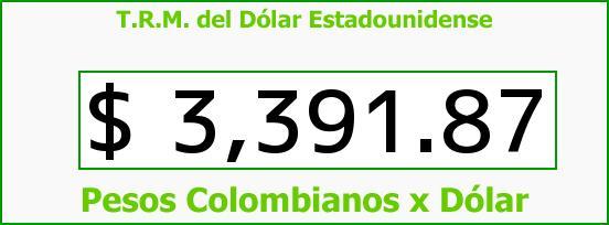 T.R.M. del Dólar para hoy Jueves 18 de Febrero de 2016