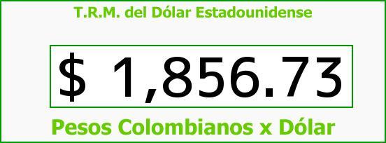 T.R.M. del Dólar para hoy Jueves 3 de Julio de 2014