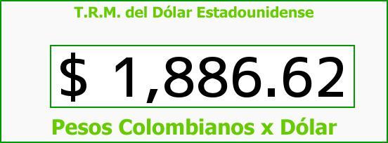 T.R.M. del Dólar para hoy Martes 17 de Junio de 2014