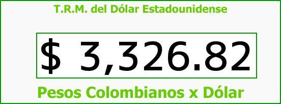 T.R.M. del Dólar para hoy Martes 2 de Febrero de 2016