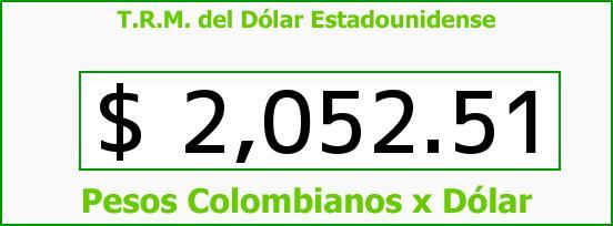 T.R.M. del Dólar para hoy Martes 4 de Marzo de 2014