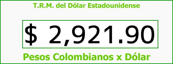 T R M Del Dólar Para Hoy Miércoles 1 De Febrero 2017