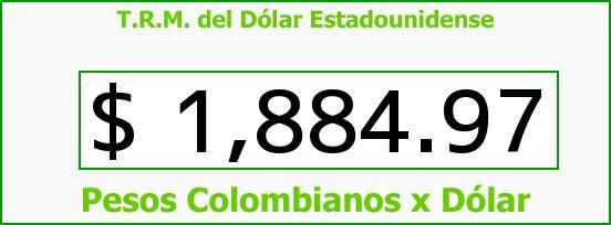 T.R.M. del Dólar para hoy Miércoles 11 de Junio de 2014