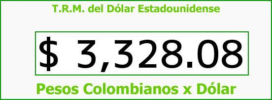T.R.M. del Dólar para hoy Miércoles 16 de Diciembre de 2015