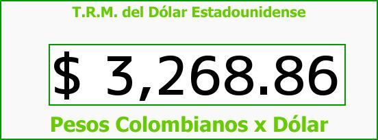 T.R.M. del Dólar para hoy Miércoles 2 de Marzo de 2016