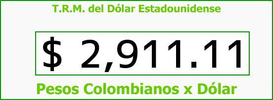 T.R.M. del Dólar para hoy Miércoles 21 de Septiembre de 2016