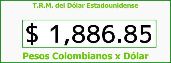 T.R.M. del Dólar para hoy Miércoles 25 de Junio de 2014