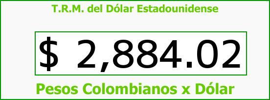 T.R.M. del Dólar para hoy Viernes 19 de Agosto de 2016