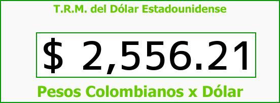 T.R.M. del Dólar para hoy Viernes 26 de Junio de 2015