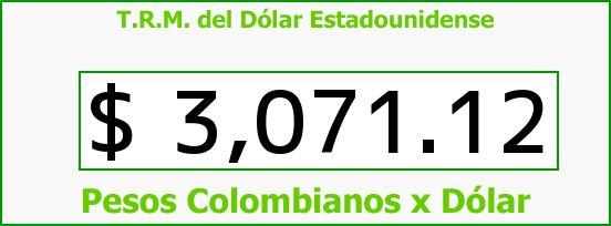 T.R.M. del Dólar para hoy Viernes 4 de Noviembre de 2016