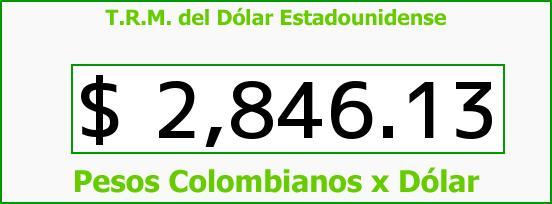 T.R.M. del Dólar para hoy Viernes 9 de Septiembre de 2016