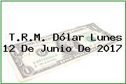 T.R.M. Dólar Lunes 12 De Junio De 2017
