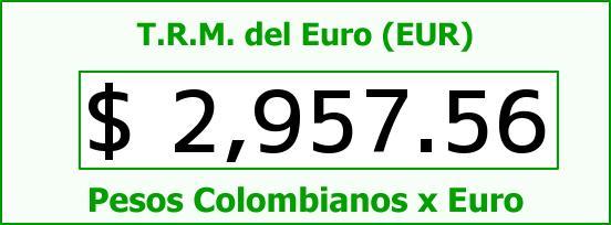 T.R.M. del Euro para hoy Jueves 11 de Diciembre de 2014