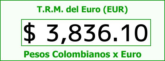 T.R.M. del Euro para hoy Jueves 11 de Febrero de 2016