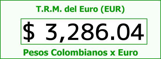 T.R.M. del Euro para hoy Jueves 26 de Noviembre de 2015