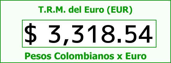 T.R.M. del Euro para hoy Martes 1 de Diciembre de 2015