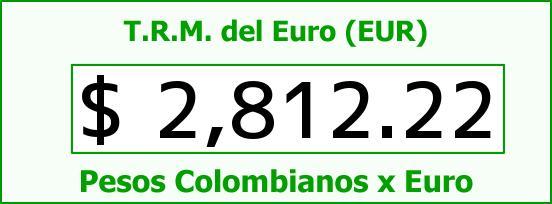 T.R.M. del Euro para hoy Martes 10 de Marzo de 2015