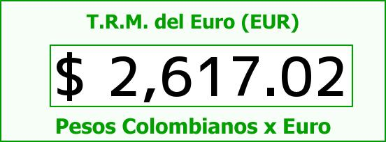 T.R.M. del Euro para hoy Martes 11 de Noviembre de 2014