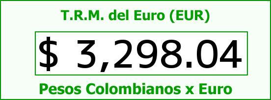 T.R.M. del Euro para hoy Martes 17 de Noviembre de 2015