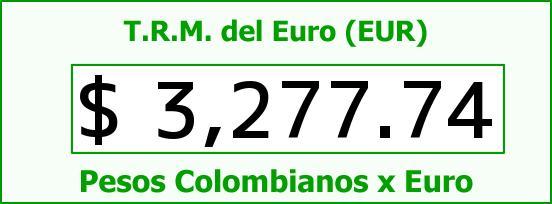 T.R.M. del Euro para hoy Martes 24 de Noviembre de 2015