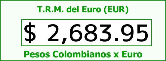 T.R.M. del Euro para hoy Martes 25 de Noviembre de 2014