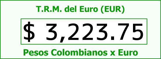 T.R.M. del Euro para hoy Martes 27 de Octubre de 2015