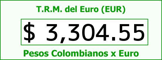 T.R.M. del Euro para hoy Martes 28 de Junio de 2016