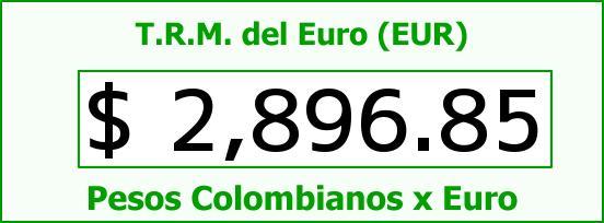 T.R.M. del Euro para hoy Martes 30 de Diciembre de 2014