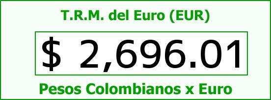 T.R.M. del Euro para hoy Miércoles 11 de Febrero de 2015