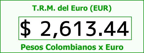 T.R.M. del Euro para hoy Miércoles 12 de Noviembre de 2014