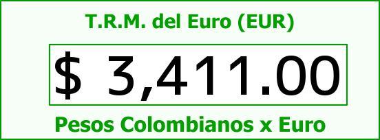 T.R.M. del Euro para hoy Miércoles 16 de Septiembre de 2015