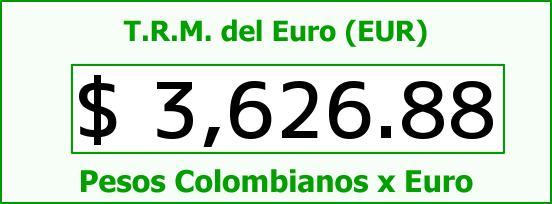 T.R.M. del Euro para hoy Miércoles 23 de Diciembre de 2015