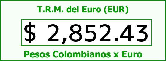 T.R.M. del Euro para hoy Miércoles 24 de Diciembre de 2014