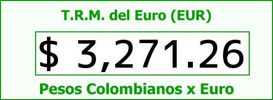 T.R.M. del Euro para hoy Miércoles 25 de Noviembre de 2015