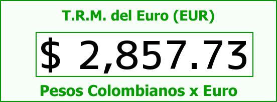 T.R.M. del Euro para hoy Miércoles 4 de Marzo de 2015