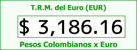 T.R.M. del Euro para hoy Miércoles 5 de Agosto de 2015