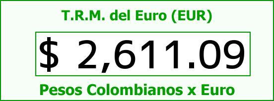 T.R.M. del Euro para hoy Miércoles 5 de Noviembre de 2014