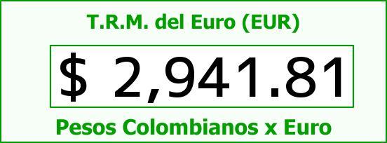 T.R.M. del Euro para hoy Miércoles 8 de Julio de 2015
