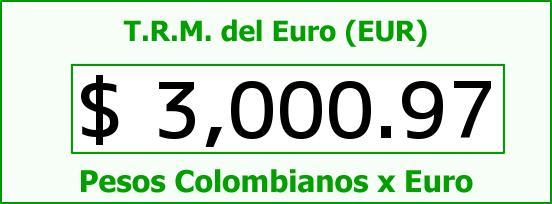T.R.M. del Euro para hoy Viernes 12 de Diciembre de 2014