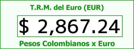 T.R.M. del Euro para hoy Viernes 19 de Diciembre de 2014