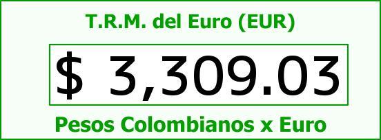 T.R.M. del Euro para hoy Viernes 20 de Noviembre de 2015