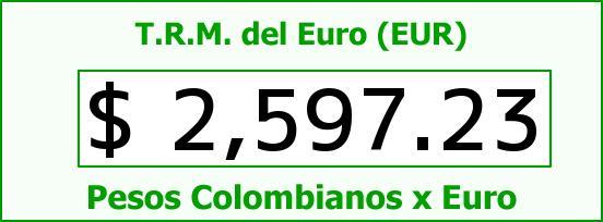 T.R.M. del Euro para hoy Viernes 24 de Octubre de 2014