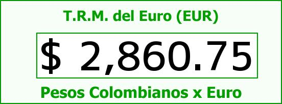 T.R.M. del Euro para hoy Viernes 26 de Diciembre de 2014