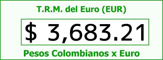 T.R.M. del Euro para hoy Viernes 26 de Febrero de 2016